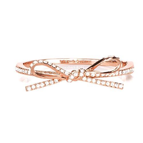 Kate Spade New York Skinny Mini Pave Bow - Rose Gold Bracelet Kate Spade