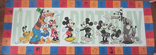 Walt Disney Happy Birthday Mickey Mouse Limited Edition Commemorative Print - Cast Member Exclusive