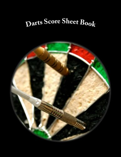 (Darts Score Sheet Book: 100 Pages (50 sheets))