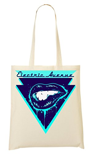 Electric Avenue DJ Popular Music Collection in Brixton Bolso De Mano Bolsa De La Compra