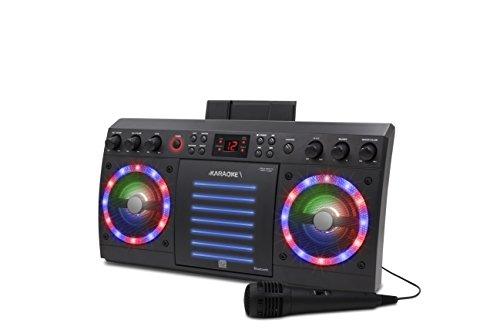 iKaraoke KS303B-BT Bluetooth CD&G Karaoke System, Black by iKaraoke (Image #3)