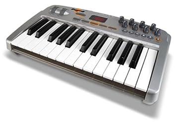 Pinnacle Oxygen 8 v2 - Teclado MIDI (USB, 1,9 kg, Pentium