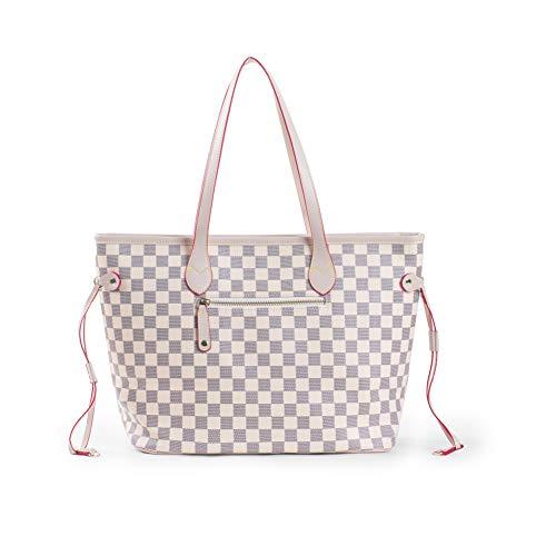 Monogramme Shopper Boston GetThatBag® Damier main Beige bandoulière Sacs Sac Impression à CPww5qOn