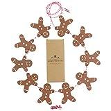 Rocky Mountain Radar Wooden Gingerbread Man