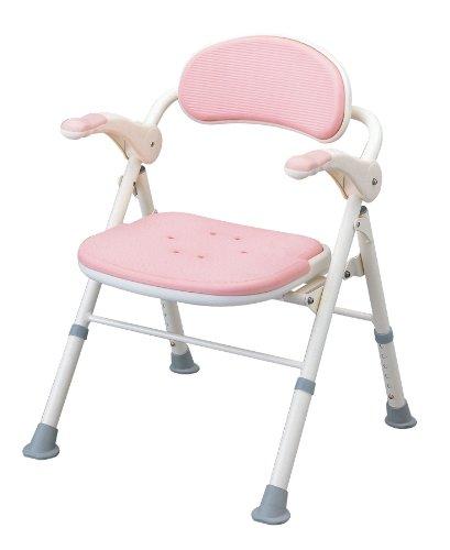 アロン化成 安寿 折りたたみシャワーベンチ TS ピンク B001GZFBJS ピンク ピンク