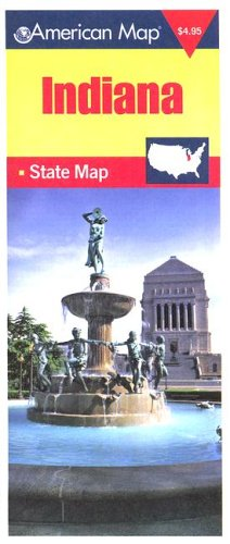 Download Indiana State Travel Vision Pocket Map (American Map) ebook
