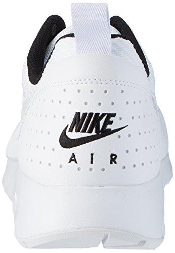 Uomo Ginnastica Max White White Scarpe Bianco Basse Nike da Tavas Black Air 0vxqZX