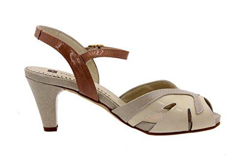 Calzado mujer confort de piel Piesanto 2257 sandalia vestir zapato cómodo ancho Terra