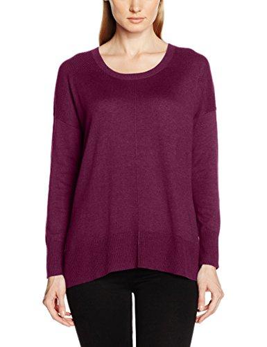 Eddie Bauer 103593, Suéter Para Mujer Violeta (WeinViolett)