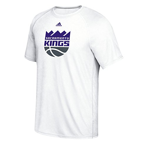 fan products of NBA Sacramento Kings Men's Phrase Hat Hook Climalite Ultimate Tee, Medium, White