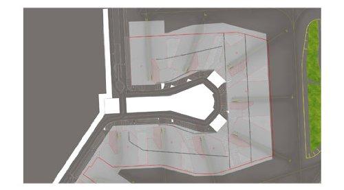 - Daron Herpa Amsterdam Pier F Ground Foil 1/500