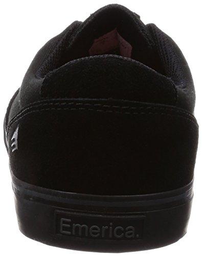 Emerica Schwarz X Machine VULC Skateboardschuhe Provost Black Toy Black 003 Herren Slim nr8aqxrwXt