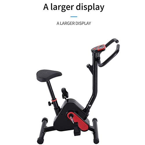 SUIKI Adjustable Indoor Cycling Bike, Ultra-Quiet Bicycle, Stationary Bicycle with Flywheel and LCD Display, Cardio Fitness Cycle Trainer Professional Exercise Bike for Home and Gym Use