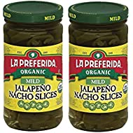 La Preferida Organic Jalapeno Nacho Slices, Mild, 11.5 oz (Pack - 2)