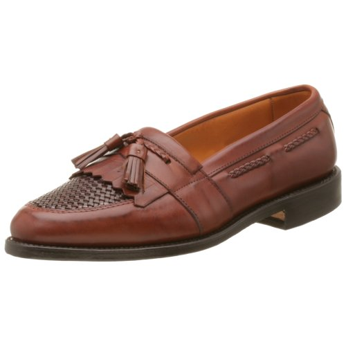 Allen Edmonds Men's Cody Tassel Loafer,Chili/Weavei,8 D