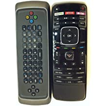 New keyboard dual side remote for VIZIO Blu-ray DVD VBR122 VBR135 VBR337 VBR338 VBR370 and App DVD