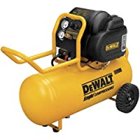 Dewalt D55167R 1.6 HP 15 Gallon Oil-Free Wheeled Air Compressor (Certified Refurbished)