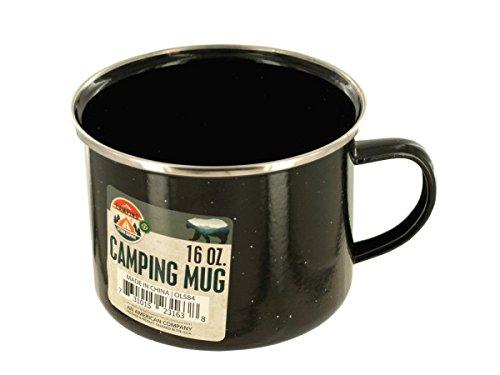 (Bulk Buys Enamel Camping Mug - Pack of 12)