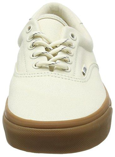Vans Mens Era 59 Chaussure De Skateboard (randonnée) Blanc / Gomme