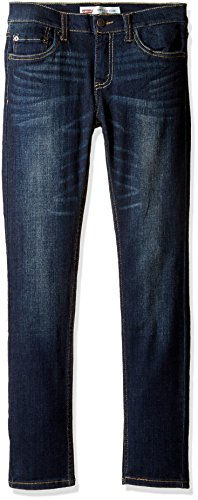 Levi's Boys' Big 519 Extreme Skinny Fit Jeans, Murky Waters, 14 510 Super Skinny Jean