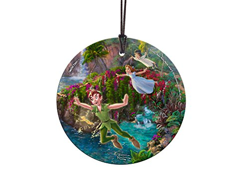 (Trend Setters Disney Peter Pan - Peter Wendy and John Starfire Prints Hanging Glass)