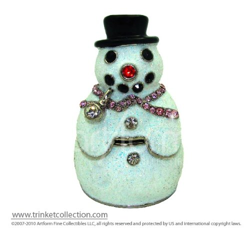 Objet D'Art Release #398 Christmas Trinket Box