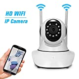 OWSOO Wireless 720P Security Camera WiFi Home Surveillance IP Camera Support P2P Phone APP Remote Control IR-CUT Filter Infrared Night View Motion Detection, Baby/Store/Office/Pet/Elder Monitoring