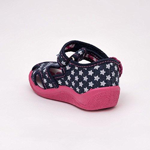 Baby Comfort , Chaussures premiers pas pour bébé (fille) UK 5 / EU 22