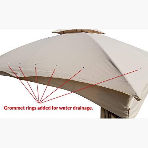 Garden Winds Replacement Canopy for the Lowe's Dome Gazebo,LCM1018B