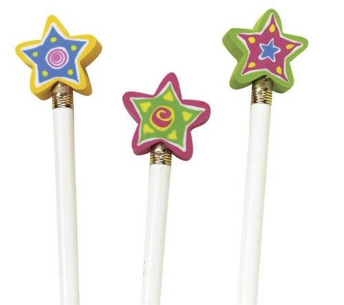 Shining Star Pencil Top Eraser, Package of 144 by Musgrave (Image #1)