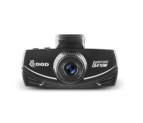DOD LS470W Full 1080p Dash Cam, SONY Exmor sensor, WDR, Loop Recording, large f/1.6 lens aperture, 150 degree Wide View Angle, SOS file locking, Built-in GPS processor, Free 8GB micro SD card included
