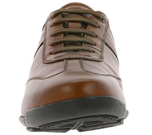 Scarpe Geox cognac Estate U743BB 2018 Pelle in Primavera Nere Classiche Sneakers Uomo wIqnPrIa7