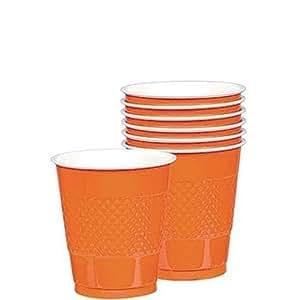Orange Peel 9oz Plastic Cups 20ct