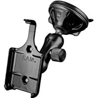 Ram Mount Composite Twist Lock Suction Cup Mount for iPhone 3G/3Gs - Non-Retail Packaging - Black