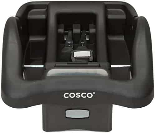 Cosco Light 'n Comfy Adjustable Infant Car Seat Base, Black
