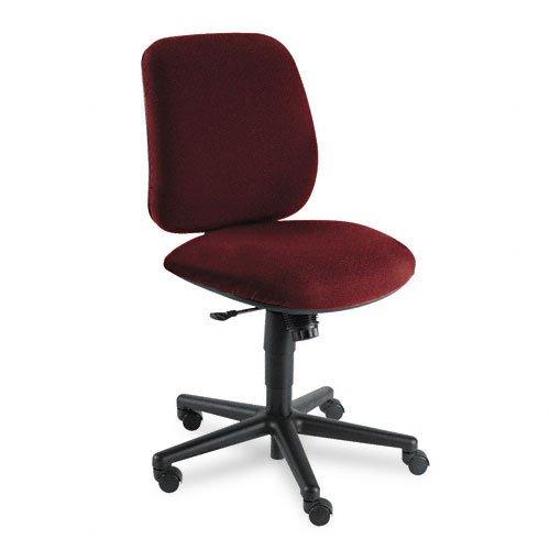 HON 7702AB62T 7700 Series Swivel Task Chair, Mid-Range Knee-Tilt, Burgundy Olefin (Hon 7700 Swivel)