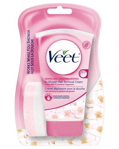 Veet in shower hair removal cream for normal skin - 5.07 oz