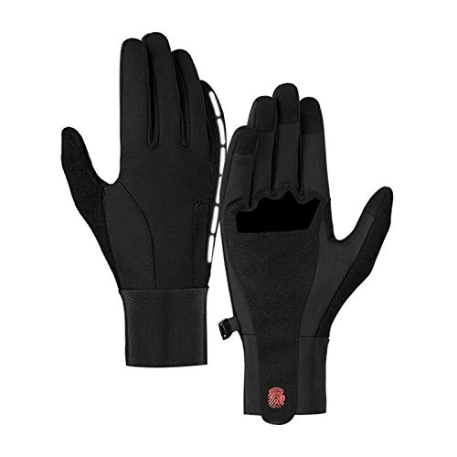 (Motorcycle Riding Warm Gloves Waterproof Full Finger Touch Screen Damping Non-Slip Outdoor Sports Windstopper Ski Gloves 1 M)