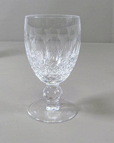 Waterford Crystal COLLEEN-SHORT STEM Wine Glass(es) Multi Avail Excellent (Colleen Waterford Crystal Short)