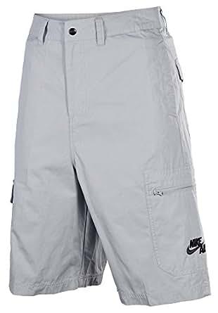 Nike 6th Man Woven Basketball Shorts Wolf Gray Men's (32)