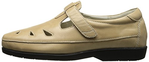 Propet W3232 Women's LadybugLeather Casual Slip-Ons Shoes Oyster pwzrXJJw