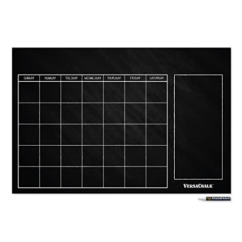 Large Erasable Chalkboard Calendar Sticker product image