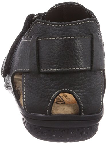Dockers by Gerli 34FC001-140100 - Sandalias de vestir de cuero para hombre negro - negro