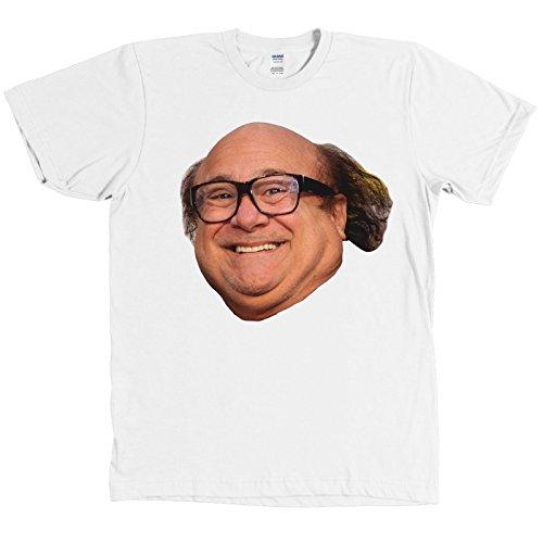 Danny Devito Face Funny Always Sunny In Philadelphia T Shirt  White  4Xl