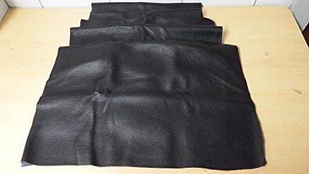 Cuero Lederpaket Cuero Trozos Negro Aprox. 1,5 Qm (483)