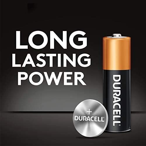Duracell - CopperTop 9V Alkaline Batteries - lengthy lasting, all-purpose 9 Volt battery for family and trade - 4 depend