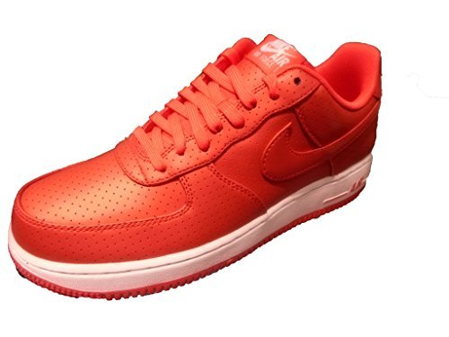 Nike Men's Air Force 1 '07 LV8 Basketball Shoes Red Size 10.5 D (US)