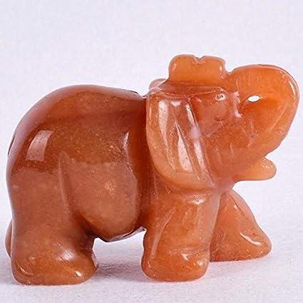 Amazon Com Laross Ornament Elephant 2 Inch Crystal Elephant