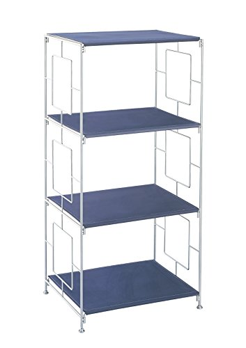 Organize It All 3-Shelf Storage Rack (Laundry Basket Storage Shelves)
