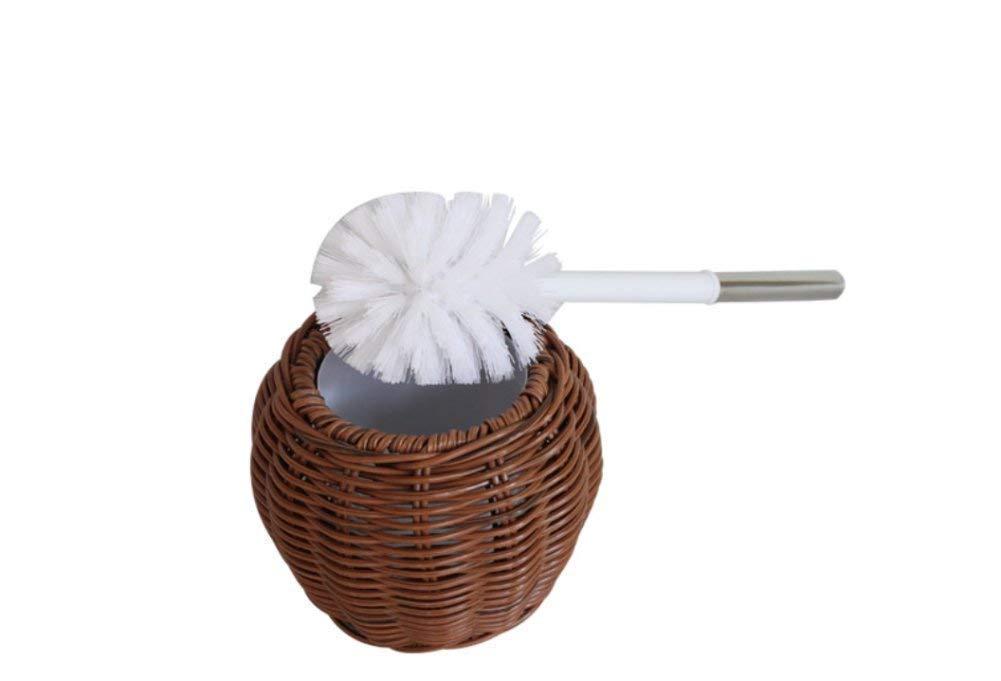FuweiEncore Cepillo para Inodoro Cepillo para Inodoro de plaacute;stico Cepillo Cepillo Cepillo para Inodoro Cepillo para Inodoro domeacute;stico Cepillo para bantilde;o Cepillo para Inodoro c5d2c5